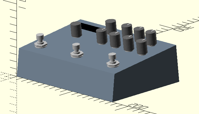 Strymon Timeline 3d-Modell